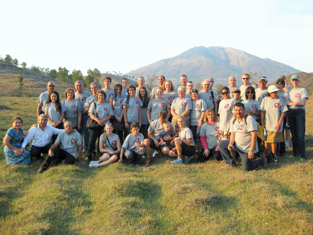 2014 Mission Team on Donated Land (2)